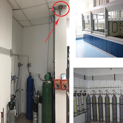 医院气瓶间气体检测报警解决方案